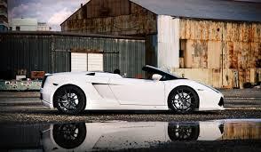 lamborghini gallardo spyder white hamann lamborghini gallardo spyder on pur wheels gtspirit