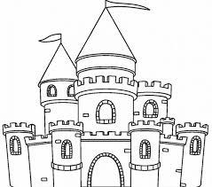 Castle Coloring Sheet Printable Castle Coloring Pages For Kids Coloring Pages Castles