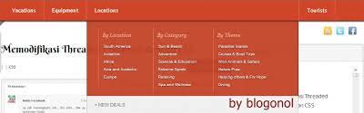 cara membuat menu dropdown keren cara membuat dropdown mega menu keren pada blog abihilwa