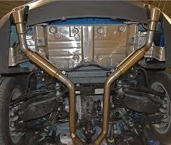 camaro exhaust system mrt v6 axle back exhaust for 2016 2017 camaro lt 91u800