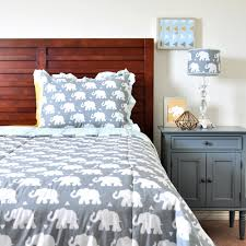 Elephant Bedding Twin Indie Elephant Bedding Set U2014 Pam Grace Creations