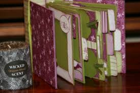 handmade scrapbook albums scrapbooking mini album class
