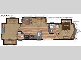 Bunkhouse Trailer Floor Plans Retreat Destination Trailer Rv Sales 16 Floorplans