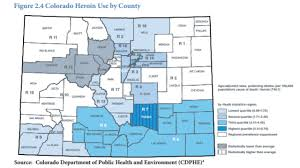 Colorado Population Map New Study Shows Colorado Heroin Related Deaths Are Doubling Koaa