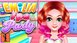 games for kids to play emilia spa party game for android