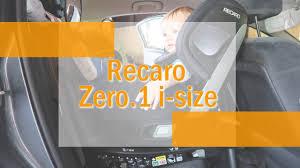 siege auto recaro sport avis test et avis le siège auto zéro 1 i size de récaro