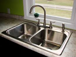 Delta Faucets Kitchen Sink by Sink U0026 Faucet Stainless Steel Lowes Kitchen Faucets With Curved
