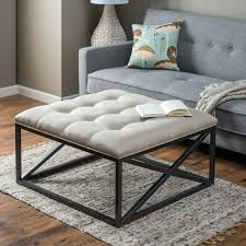 coffee tables breathtaking living room tufted ottoman coffee