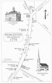 Concord Massachusetts Map by The True Start Of The American Revolution Journal Of The
