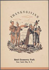 vintage thanksgiving menus from new york s legendary hotels new