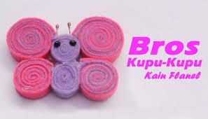 membuat kerajinan bros 3 cara membuat aneka bros dari kain flanel cantik dan lucu fatinia