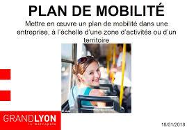 si e entreprise lyon plans de mobilité mise en ligne d une boîte à outils pour les