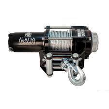 champion power equipment 4 700 lb 12 volt atv utv winch kit