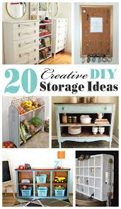creative storage ideas 20 creative diy storage ideas mostly repurposed or upcycled