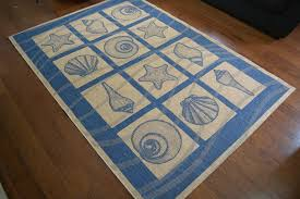 themed rug best coastal rugs and area rugs beachfront decor