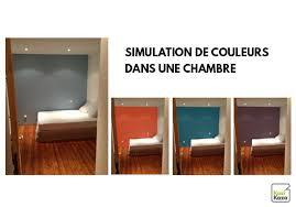 couleur chambre simulateur de couleurs de peinture en ligne gratuit kazadécor