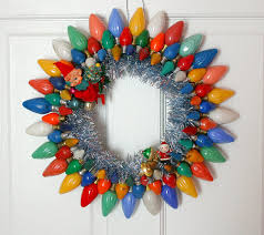 How To Make Christmas Wreath With Ornaments Unusual Diy Holiday Wreath Idea For Christmas With Shiny Papers