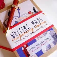 Writing Maps Writing Prompts Maps Box Set By Writing Maps Notonthehighstreet Com