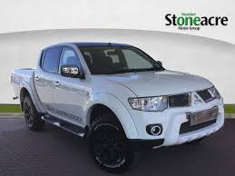 used mitsubishi l200 2 5 di d cr barbarian lb double pickup 4dr