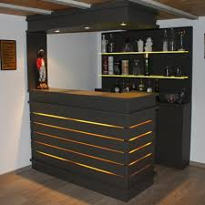 comptoir bar ikea led up lighting 3d wall panels ikea kallax bar hack my projects