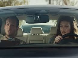 allstate commercial actress bonus check infiniti q50 commercial girl taking driving test