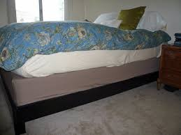Bed Spring How To Cover Your Box Spring Apartment Therapy