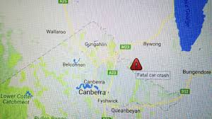 two dead in fatal car crash on sutton road across act nsw border