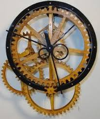 7 free wooden gear clock plans for you eccentric masochist