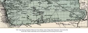 De Anza Map Juan Bautista De Anza National Historic Trail Guide The Anza