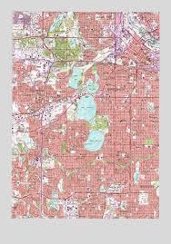 minnesota topographic map minneapolis south mn topographic map topoquest