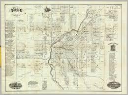 map of denver colorado thayer h l 1879