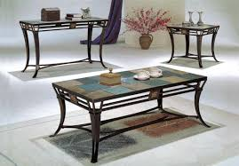 slate coffee table and end tables rascalartsnyc