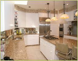 santa cecilia granite with white cabinets pictures of st cecilia