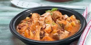 cuisiner thon frais marmitako de thon frais facile recette sur cuisine actuelle