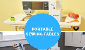 gidget sewing machine table our two favorite portable sewing machine tables crafting made easy