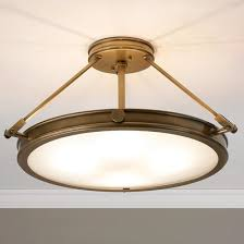 Large Semi Flush Ceiling Lights Semi Flush Mount Ceiling Lights Shades Of Light