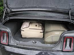 mustang convertible trunk ford mustang car for road trip road trips forum tripadvisor