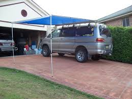 Awning Side Walls Van Life Custom Van Awning System How To Diy Van Canopy So