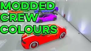 gta 5 online bright purple and neon red gta v crew colors