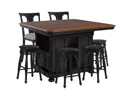 kitchen island with 4 stools avalon furniture rivington kitchen island 4 backless stools