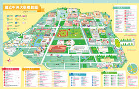 map central national central 訪客民眾 cus guide