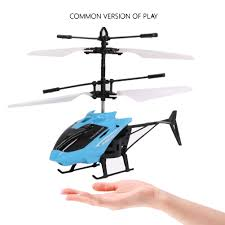 small rc helicopter aircraft radio remote control led kids gift