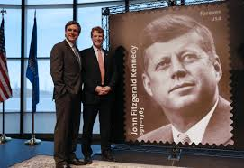 john f kennedy new john f kennedy stamp marks centennial of his birth boston