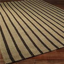 Jute Outdoor Rugs Coastal Impressions Flat Weave Stripe Blue Runner 2 6 X 8 2 6