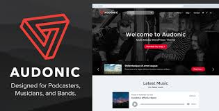 wordpress music themes from themeforest