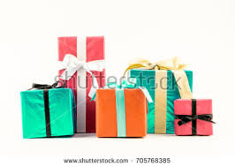 wrapped gift boxes big pile colorful wrapped gift boxes stock vector 534736702