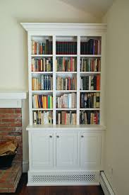 Shaker Bookcase Appealing Living Room Bookcases Ideas U2013 Bookcases For Living Rooms