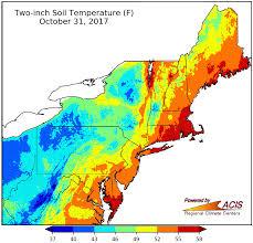 temperature map newa soil temperature map