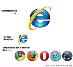 Internet Explorer Meme - internet explorer respect