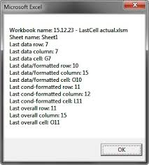 excel vba usedrange rows count wrong strategies for getting the